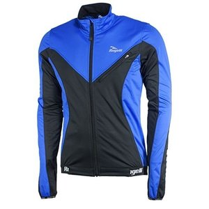 Rogelli winterjack Trapani softshell Blue/Black